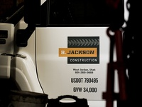 B. Jackson Construction Vehicle Graphics