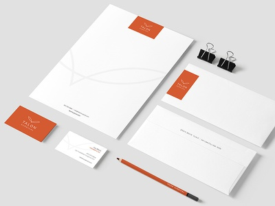 Talon Surgical Stationary printed material package design concepting visual identity brand strategy