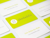 Skedaddle Business Cards