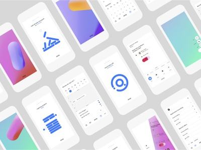 DoUp flat web app icon ux ui brand identity typography branding design