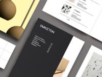 Omniton book brand design illustration logo brand identity typography branding design