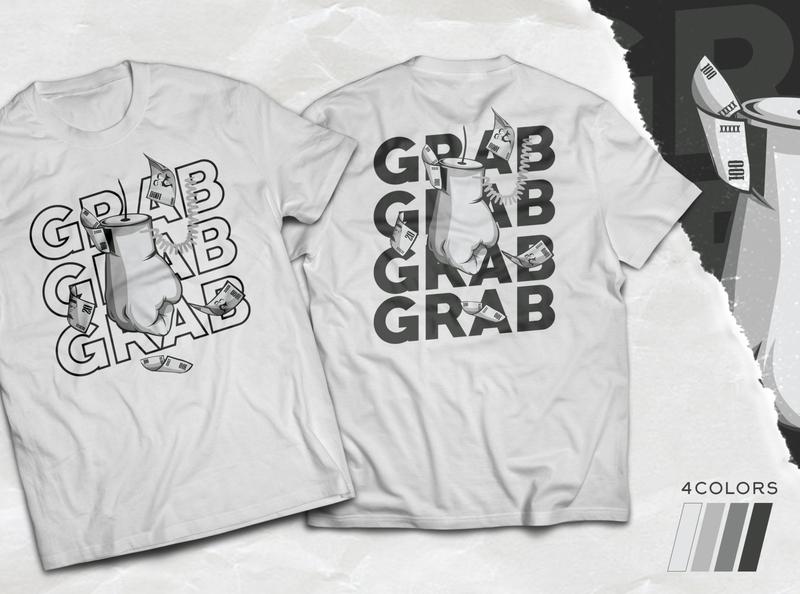 Money Grabber Shirt vector design shirt illustration