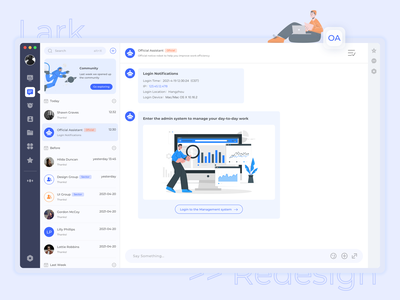 20210421 OA System Redesign ui ux practice