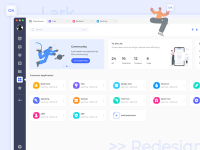 20210428 OA System Redesign ui ux practice