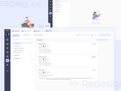 20210430 OA System Redesign ui ux practice