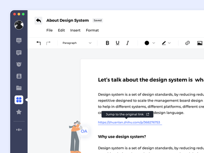 20210518 OA System Redesign ui ux practice
