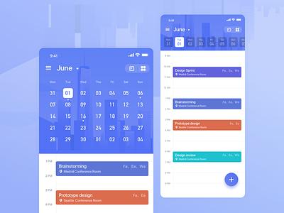 20210606 Calendar Tool practice ui ux