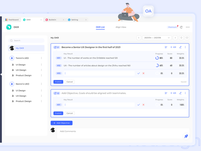 20210630 OA System Redesign practice ui ux