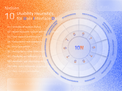 20210806 Nielsen Usability Heuristics practice ui ux