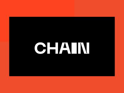 CHAIN FASHION animation ui design web branding