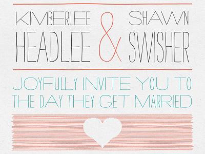 Personal Wedding Invitation wedding invitation strangelove