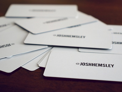 Business Cards?
