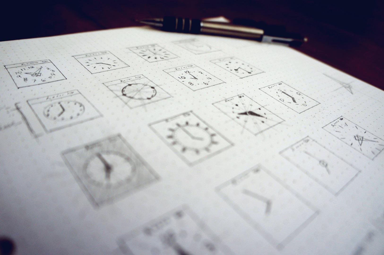 Watch ui sketches 02