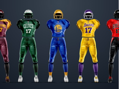 TheLeagueOf.xyz — NBA Teams uniforms sports bulls celctics lakers warriors cavs nba concepts
