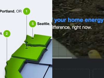MyEnergy Celebrates 42 years of Earth Day - New Homepage earth day green map home energy