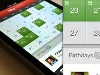 MyCalendar App UI Updates