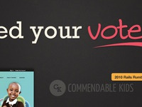 Just a little VOTE landing page :)