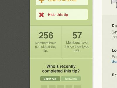 256 members... web app green dark sidebar tip chart ui interface application app design