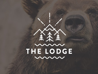Logos for our Conference rooms logo lodge agency conference room room bear brown