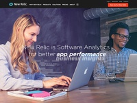 New Relic Homepage Photoshoot