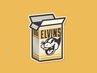 Elvins Business Card