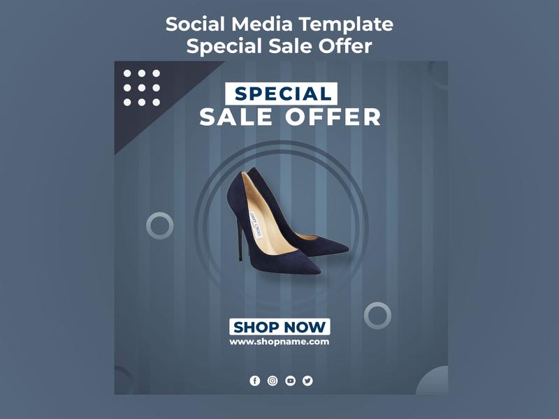 Special Sale Offer Social Media Template social media templates social media social media design sale offer