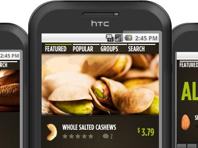 Maxwell Fine Foods in-store app