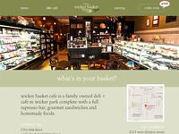 Website Design for Wicker Basket in Chicago