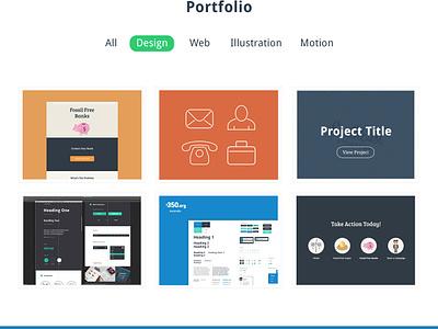 Kramer | One Page Portfolio PSD theme psd portfolio one page web ui ux typography free mockup template