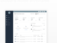 Dashboard Wireframe