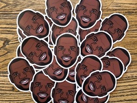 LeBron James Stickers