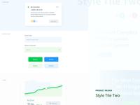 UI Web App Style Tile Two