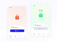 UI Visual Direction (Not Chosen) | Smart Lock App