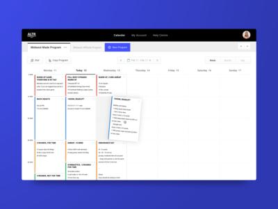 Coaching Dashboard | Product Design