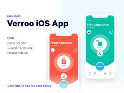 Verroo Smart Lock App | Case Study