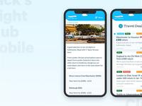 JFC Travel Portal | Mobile Web App