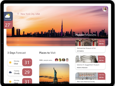 Weather App design mobile dribbble ui page minimal weather icon weather app product design weekly weather ux clean ui colors clean application app