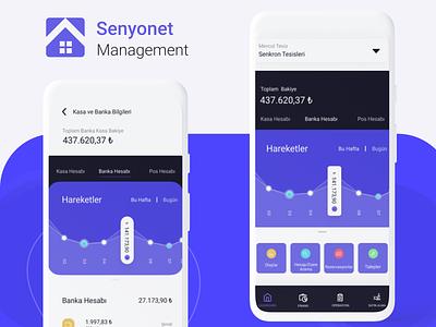 Senyonet Management App -FMS management app ui interface app design ux mobile ui task mobile manager management dashboard app