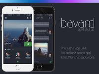 Mobile Chat App Ui