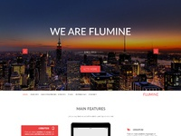 Flumine main page new color