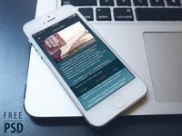 Free Psd: Ebook Reader App Ui Kit