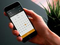 Calendar & Weather Page