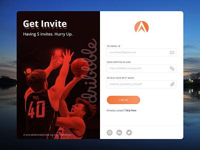5x Dribbble Invites graphic design uiux dribbble invite