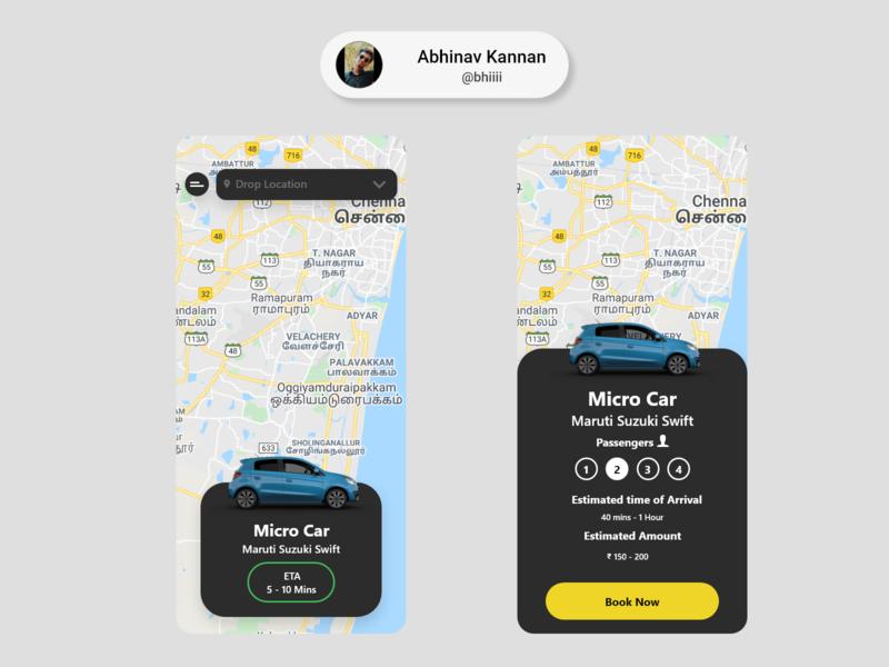 Car travel app idea part 2 simple clean interface simple design travel app design travel app ui travel app car uber clone uber design ola uber ux ui design