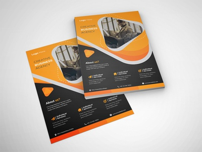 Corporate / Business Flyer / Flyer Design corporate identity flat flyers business poster poster design poster leaflet design leaflet corporate design corporate flyer business flyer templates flyer design branding brand identity flyer