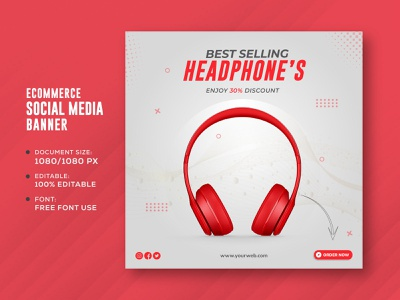 Social media post template design for Ecommerce Business cover flat design product sell ecommerce business corporate instagrame story facebook cover social media cover post template banner facebook post social media post social media banner creative professional