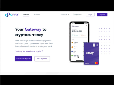 Cryptocurreny Wallet & Payment Solution design illustrator website minimal ux app web logo ui finance fintech crypto exchange cryptocurrency crypto wallet