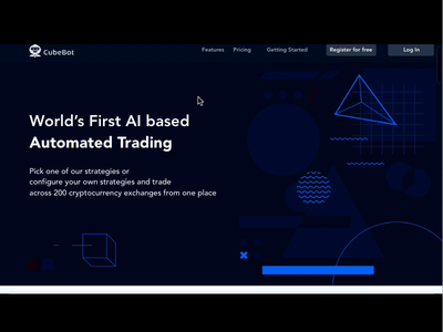 Cryptocurrency Landing Page web design ux website freelancer fintech finance design ui crypto wallet crypto exchange illustration ecommence cryptocurrency