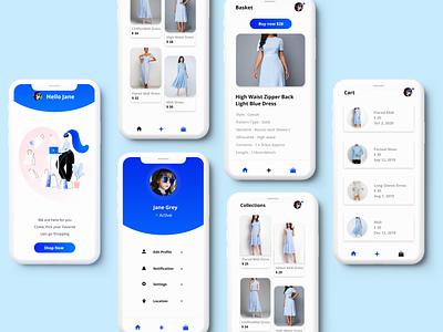E-commerce app - shoppee ecommerce website ecommerce ux shopping shop design uidesign ios ui application app android