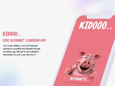 Kids App ios app ios website childish ui design kids ui pink app kids app illustration app ux ui design neumorphic design